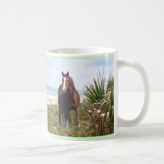 PferdeTassen-Strand Kaffee Haferl