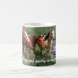 Pferdetrio-Tasse