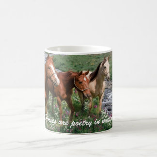 Pferdetrio-Tasse Tasse