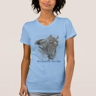 PferdeVintager Damen-T - Shirt