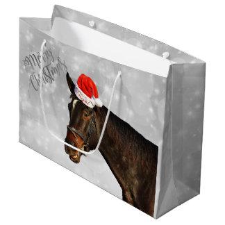 Pferdeweihnachtsgrüße Große Geschenktüte