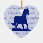 Pferdeweihnachtsverzierung Lexingtons KY Weinachtsornamente
