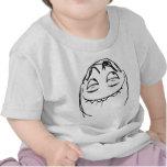 PFFTCH lachendes Raserei-Gesichts-Comic Meme Shirts