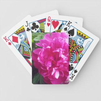 Pfingstrose Bicycle Spielkarten