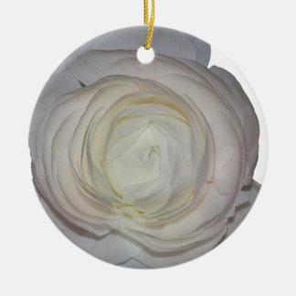 Pfingstrose Keramik Ornament