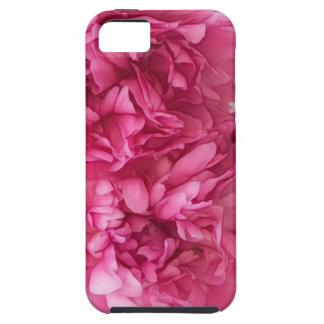 Pfingstrosen-Blumen-Nahaufnahme-Skizze iPhone 5 Schutzhülle