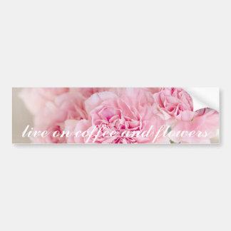 Pfingstrosen-Blumenblüten-Blumenblattnahaufnahme Autoaufkleber