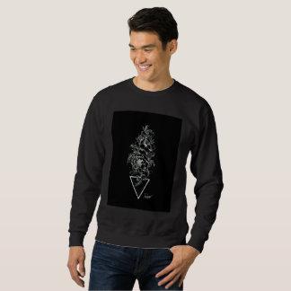 Pfingstrosen Dotwork Sweatshirt