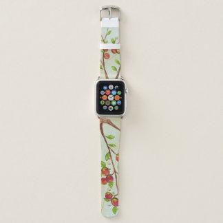 Pfirsich-Baum-Apple-Uhrenarmband Apple Watch Armband
