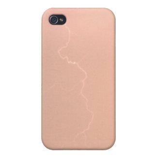 Pfirsich-Blitz 4/4s Etui Fürs iPhone 4