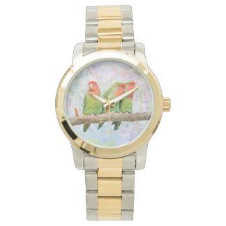 Pfirsich-Freuden-Uhr Uhr
