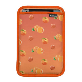 Pfirsich-Frucht-Muster Ipad Minihülse Sleeve Für iPad Mini