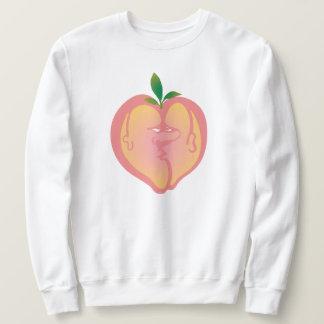 Pfirsich-Liebhaber Sweatshirt