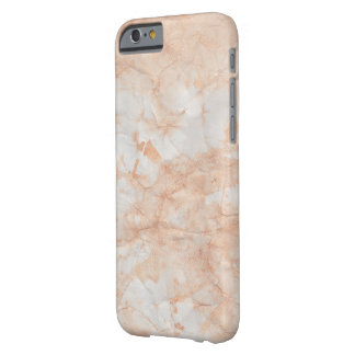 Pfirsich-Marmorkamerad kaum dort iPhone 6/6s Fall Barely There iPhone 6 Hülle