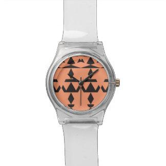 Pfirsich-minimales Stammes- Uhr