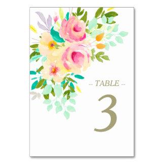 Pfirsich-rosa Rosen auf weißer Hochzeit Karte