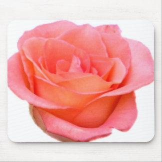 Pfirsich-Rose Mousepad