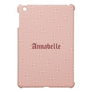 Pfirsich-Rose Pern iPad Mini Hülle