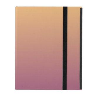 Pfirsich und Pflaume Ombre Steigung Hülle Fürs iPad