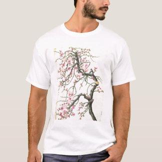Pfirsichblüte (Farbe auf Papier) T-Shirt