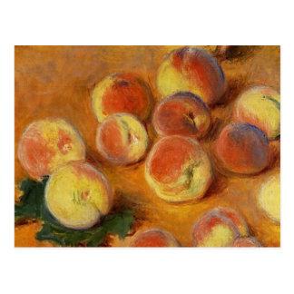 Pfirsiche - Claude Monet Postkarte