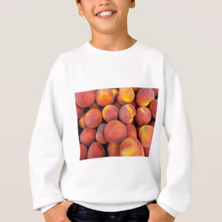Pfirsiche gerade in der Kugel Sweatshirt