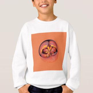 Pfirsiche in der Kugel Sweatshirt