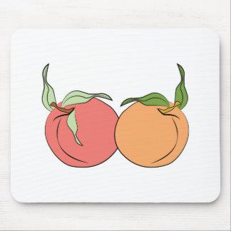Pfirsiche Mousepads