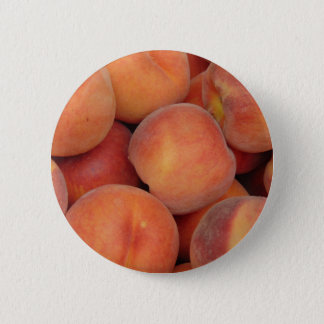Pfirsiche Runder Button 5,7 Cm