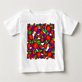 Pfirsiche und Pflaumen Baby T-shirt