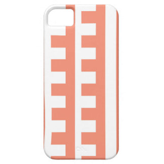 Pfirsichfarbener Kamm-Zahn Etui Fürs iPhone 5