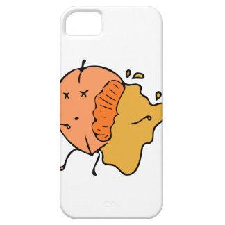 Pfirsichfarbener scharfer iPhone 5/s Kasten iPhone 5 Schutzhülle