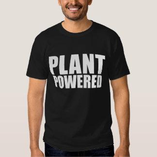 Pflanze angetriebenes veganes einfaches mutiges hemden