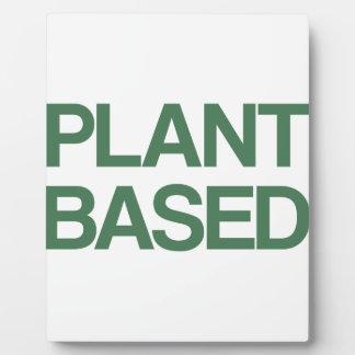 Pflanze basiert fotoplatte