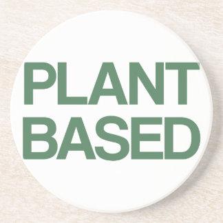 Pflanze basiert sandstein untersetzer