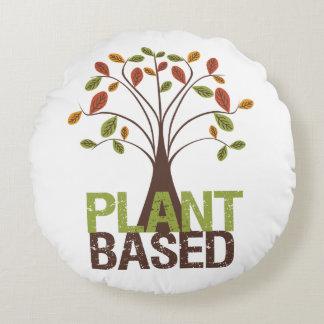 Pflanze basiertes Fall-Baum-rundes Kissen