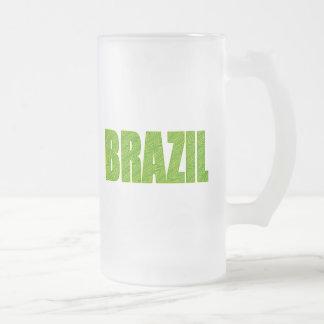 Pflanze Brasiliens Amazonas masert Mattglas Bierglas