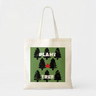 Pflanze eine Baum-Taschen-Tasche Tragetasche