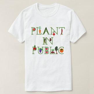 Pflanze in der Öffentlichkeit T-Shirt