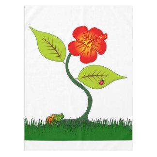 Pflanze und Blume Tischdecke