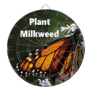 PflanzeMilkweed Dartscheibe