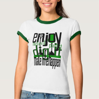 Pflanzen-Bäume lassen das Leben geschehen Damen T-Shirt