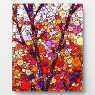 Pflanzen der Kirschbäume Fotoplatte