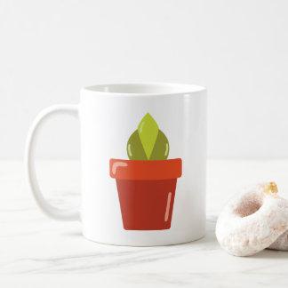 Pflanzen-Tasse Kaffeetasse