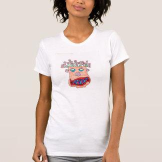 Pflanzen-Topf-Gesicht T-Shirt