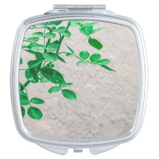 Pflanzen über Wand-Foto Schminkspiegel