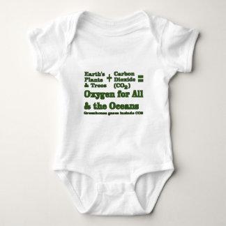 Pflanzen und Sauerstoff-Klimawahrheit Baby Strampler