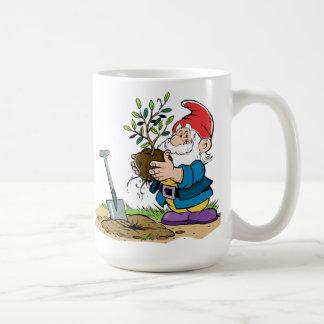 Pflanzen von Gnome Kaffeetasse