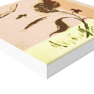 Pflanzengrafik (12 X12) 30,5 cm x 30,5 cm Leinwanddruck