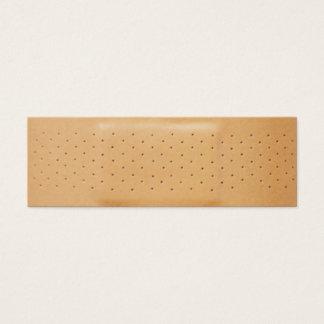 Pflaster-Versicherungs-Visitenkarte Mini Visitenkarte